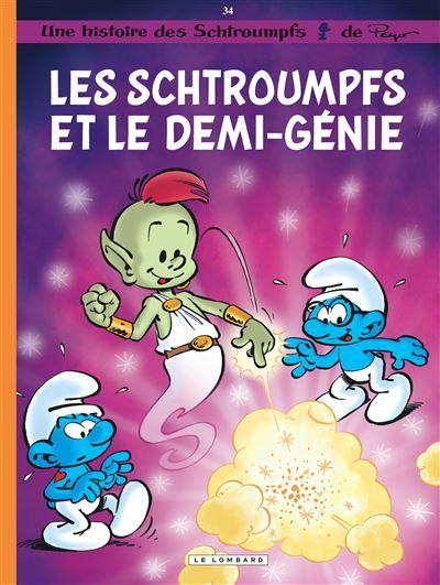 Les Schtroumpfs Lombard - Les Schtroumpfs et le demi-génie