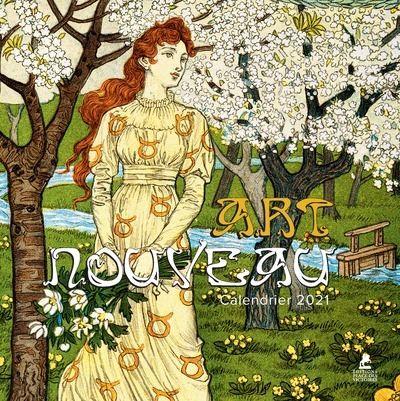 Art Nouveau   Calendrier 2021   broché   Collectif   Achat Livre