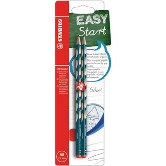 EASYGRAPH S HB RIGHT BLISTER 2 PETROL