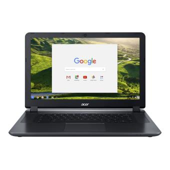 "Acer Chromebook CB3 15.6"" 32GB SSD 4GB RAM Intel Celeron N3160 1.6GHz HD Graphics 400 Laptop Grey"
