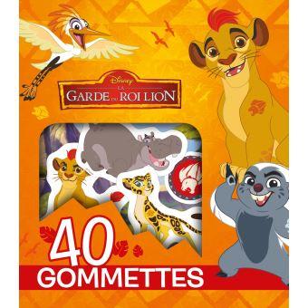 Le Roi lion40 gommettes