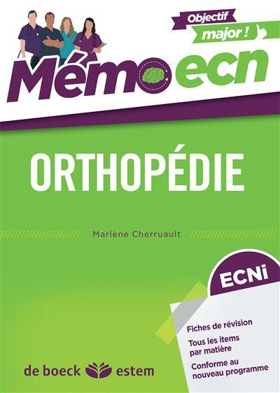 Mémo ECN orthopédie