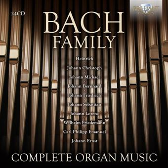 COMPLETE ORGAN MUSIC/24CD