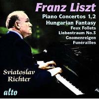 Richter joue Liszt : Œuvres pour piano