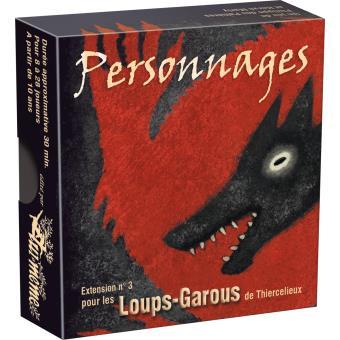 Loup-Garous extension Personnages Asmodée