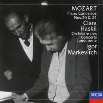 Piano Concertos numbers 20 & 24