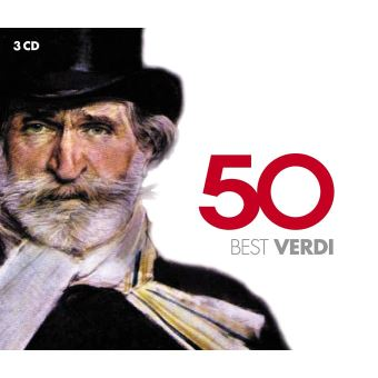 50 BEST VERDI/3CD