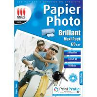 Micro Photo Paper Application eco pack - glanzend fotopapier A4 - 50 vellen