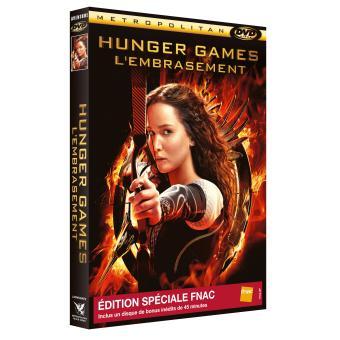 Hunger Games - L'embrasement Edition Spéciale Fnac DVD