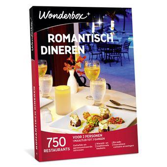 Wonderbox NL Romantisch Dineren