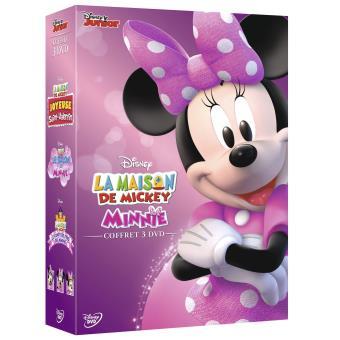 La maison de Mickey Special Minnie Tripack DVD - DVD Zone 2 - Achat ...