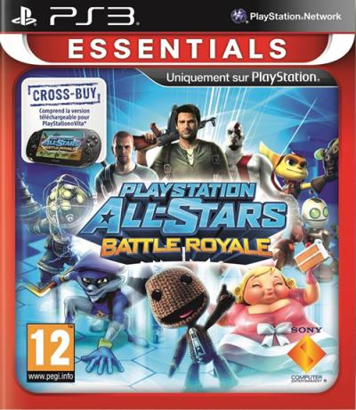 Playstation AllStar Battle Royale PS3 Gamme Essentiels