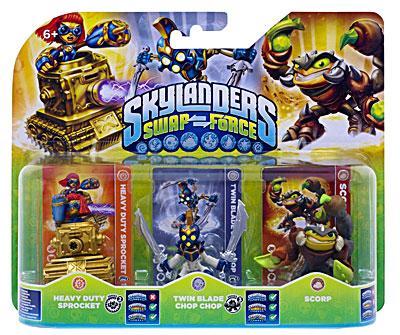 - SubTitle Figurines pour le jeu Skylanders Swap Force - Editeur Activision Blizzard - Public