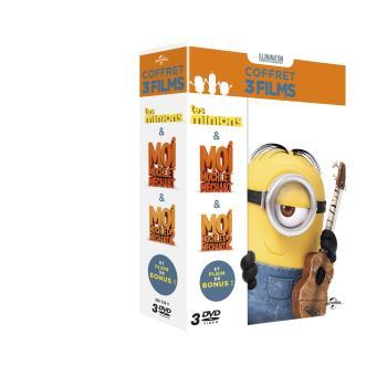 Les minionsCoffret Minions 3 films DVD