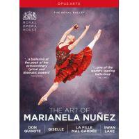 The Art Of Marianela Núñez : Don Quichotte, Giselle, La fille mal gardée, Le lac des cygnes DVD