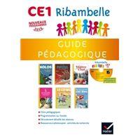 Ribambelle CE1 série jaune éd. 2016 - Guide pédagogique + CD-Rom