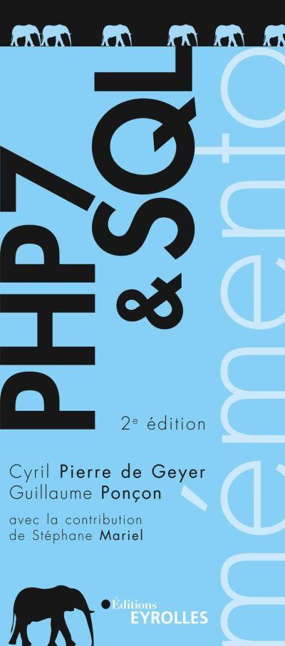 PHP 7 et SQL - Mémento - 9782212790382 - 4,99 €
