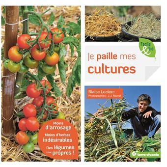 Je paille mes cultures : moins d'arrosage, moins d'herbes indésirables, des légumes tout propres!