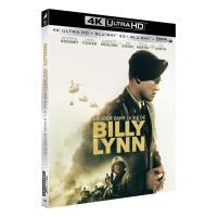 Un jour dans la vie de Billy Lynn Blu-ray 4K Ultra HD