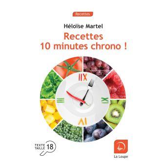 Recettes 10 minutes chrono