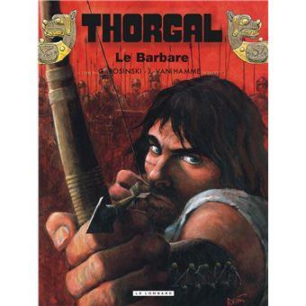 Thorgal Tome 27 Thorgal Le Barbare Jean Van Hamme Rosinski Grzegorz Cartonne Achat Livre Ou Ebook Fnac