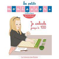 Montessori - je calcule jusqu'a 100