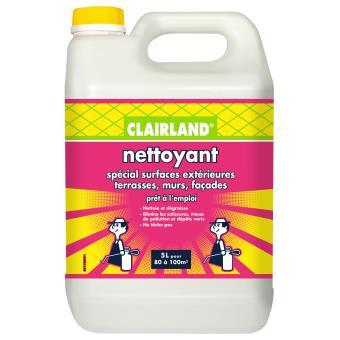 Nettoyant spécial surfaces extérieures Clairland 5L