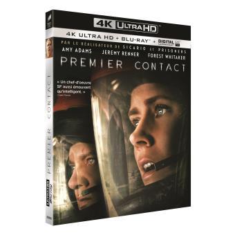 Premier contact Blu-ray 4K Ultra HD