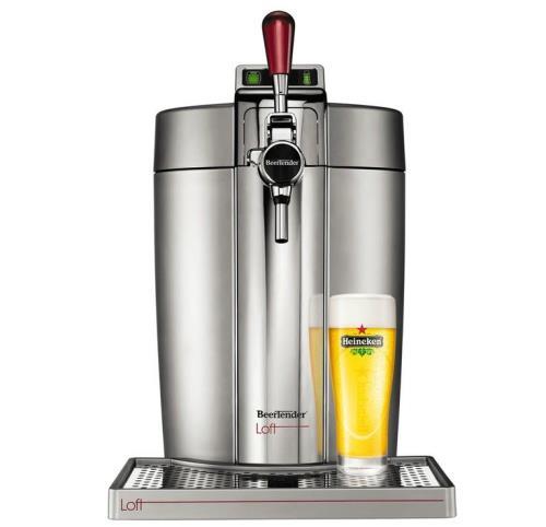 Machine à bière Krups BeerTender Loft VB700E00 61W Inox