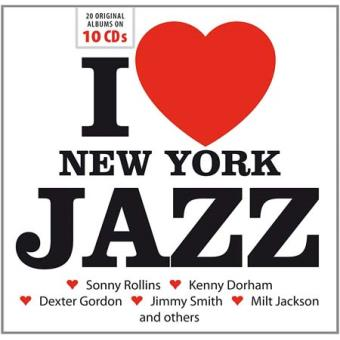 LOVE NEW YORK JAZZ/10CD