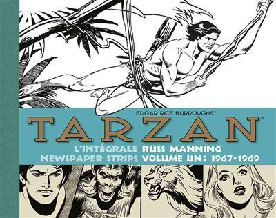 Tarzan - L'intégrale russ manning newspaper strips (volume 1 : 1967 / 1971)