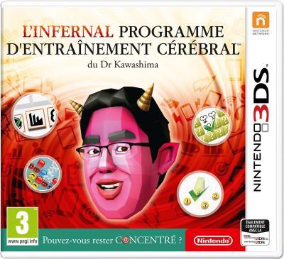 L'infernal programme d'entraînement cérébral du Docteur Kawashima 3DS
