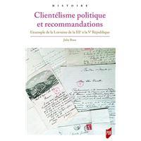 Clientélisme politique et recommandations