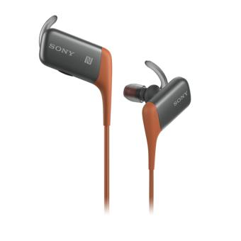 ecouteurs sans fil bluetooth sony mdr as600bt orange casque sans fil achat prix fnac. Black Bedroom Furniture Sets. Home Design Ideas