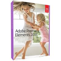 Logiciel Adobe Premiere Elements 2018 PC/MAC UK