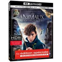 Les Animaux Fantastiques Edition Spéciale Fnac Blu-ray 4K Ultra HD