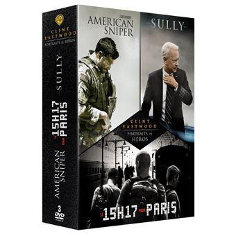 Coffret Eastwood Heroes DVD