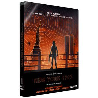 New York 1997 Steelbook Blu-ray 4K Ultra HD