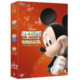 La Maison de MickeyCOFFRET MAISON DE MICKEY NOEL 3DVD-FR