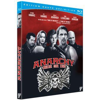Anarchy Blu-ray