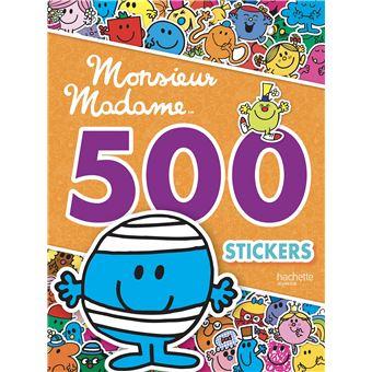 Monsieur MadameMonsieur Madame 500 stickers