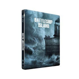 Battleship Island Steelbook Double Combo Blu-ray DVD