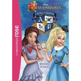 Descendants L Ile De L Oubli Tome 9 Descendants 09 Mysteres En Folie