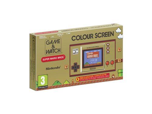 GAME & WATCH SUPER MARIO BROS DISPO ! Game-Watch-Super-Mario-Bros-System
