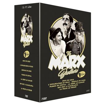 Coffret The Marx Brothers 7 Films DVD