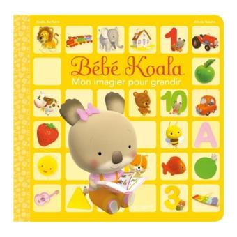 Bebe Koala Bebe Koala Mon Imagier Pour Grandir