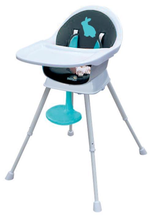 Chaise haute évolutive et petite chaise 3 en 1 Babysun