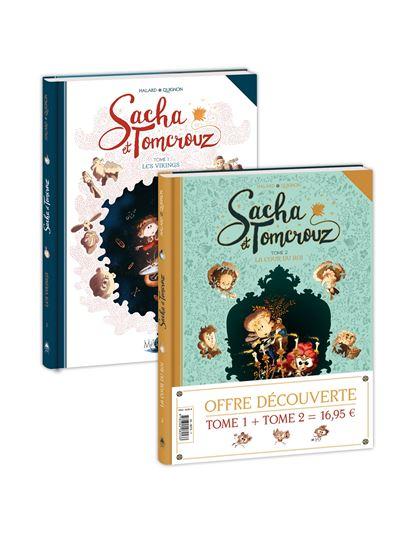 Sacha et Tomcrouz - Pack T01 HC +