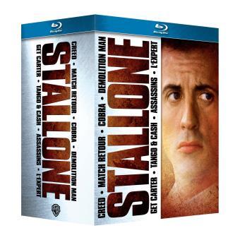 Coffret Sylvester Stallone 7 films Blu-ray