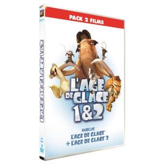 Ice AgeCoffret L'Âge de Glace 1 et 2 DVD